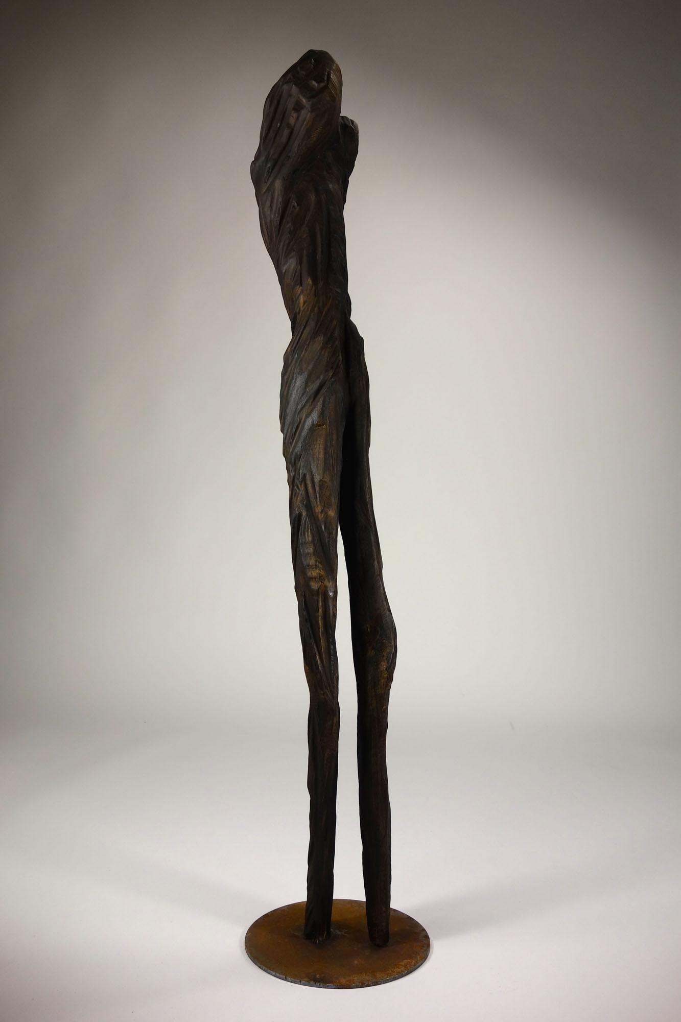 Für Houellebecq Bildhauerin — Marie Madeleine Saludas — Skulpt